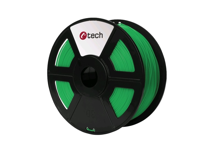 PLA GREEN ZELENÁ C‑TECH, 1,75MM, 1KG